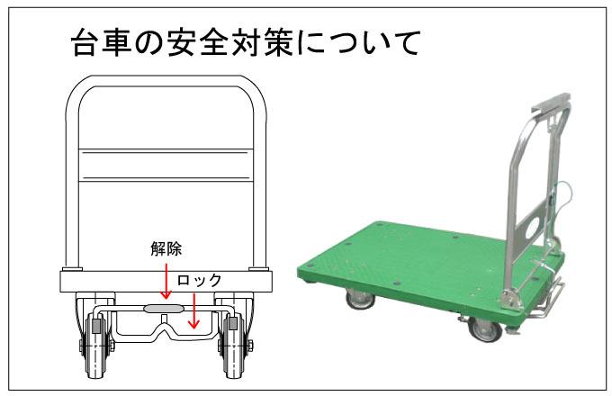 台車の安全対策について